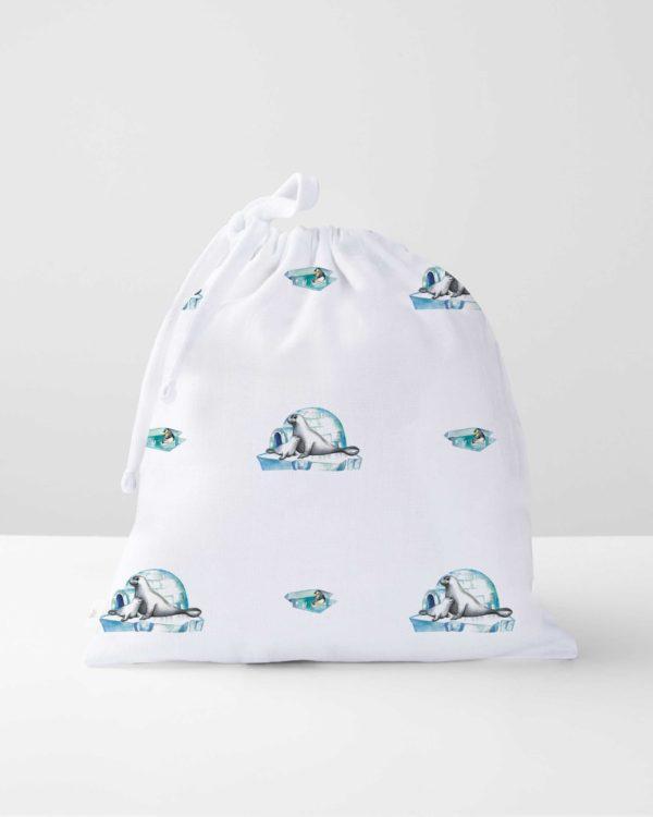 Le phoque Müslin Çanta - BAG1016