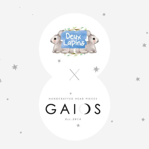 DEUX LAPINS X GAIOS